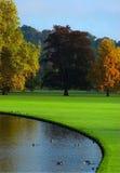Autumn in England. Audley End Gardens, Essex Stock Photos
