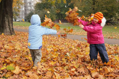 Autumn entertainments Royalty Free Stock Images