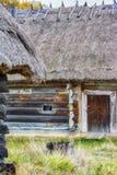Autumn in ethnic museum Pirogovo Stock Images