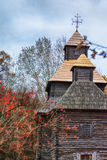 Autumn in ethnic museum Pirogovo Royalty Free Stock Images