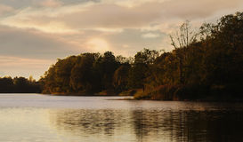 Autumn evening Royalty Free Stock Photography