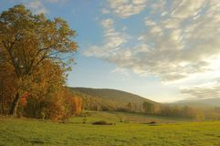 Autumn Evening, New York State Royalty Free Stock Images