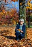 Autumn Exploring bij 90 royalty-vrije stock fotografie