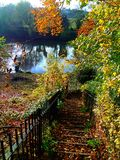 Autumn Extravaganza. Image captured by the river Severn Worcester Stock Photo