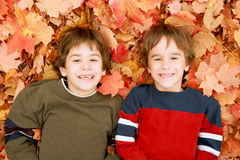 Autumn Faces Royalty Free Stock Photography