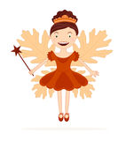 Autumn fairy Royalty Free Stock Images