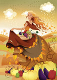 Autumn Fairy Stock Images