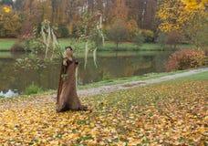 Autumn Fairy Image libre de droits