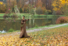 Autumn Fairy Foto de Stock Royalty Free