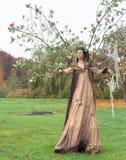 Autumn fairy Stock Photography