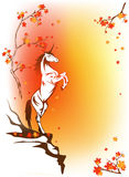 Autumn fairy tale vector Royalty Free Stock Images