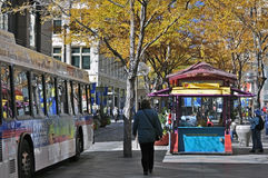 Autumn/Fall in the City:Denver Royalty Free Stock Images