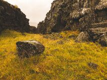 Autumn or Fall colors in Iceland.