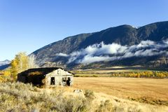 Autumn Fall Colors Similkameen Valley Imagens de Stock Royalty Free