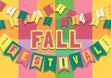 Autumn Fall ferie vektor illustrationer