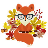 Autumn/fall Fox Royalty Free Stock Photo