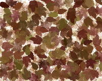 Autumn or fall leaves abstract Royalty Free Stock Photos