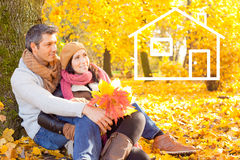 Autumn fall living Royalty Free Stock Image