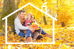 Autumn fall living Stock Images