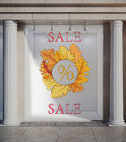 Autumn, fall sale concept Royalty Free Stock Photography