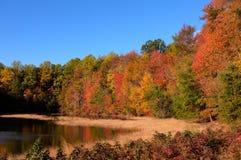 Autumn Fall Scene Stock Photo