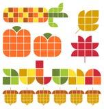 Autumn Fall Set vector illustratie