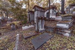 Pere Lachaise graveyard Royalty Free Stock Photos