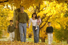 Free Autumn Family Royalty Free Stock Photography - 17510667