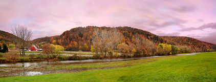 Autumn Farm Royalty Free Stock Images