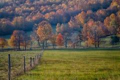 Autumn Farm Scene Stock Photography