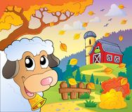 Autumn farm theme 6 Stock Image