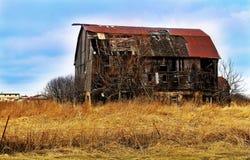 Autumn Farmland rustico immagini stock