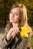 Autumn fashion Royalty Free Stock Photography