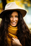Autumn Fashion Foto de archivo libre de regalías