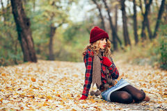 Autumn Fashion Lizenzfreie Stockbilder