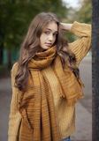 Autumn fashion beauty. Stock Photography