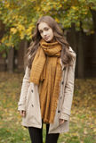 Autumn fashion beauty. Royalty Free Stock Images