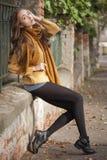 Autumn fashion beauty. Stock Image