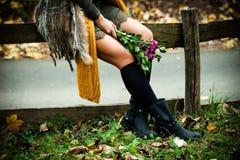 Autumn fashion details Stock Photos