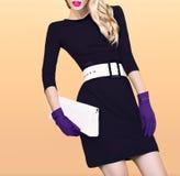 Autumn Fashion Girl fotografie stock libere da diritti