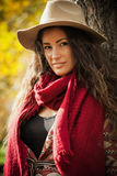Autumn fashion look Royalty Free Stock Images