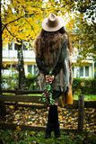 Autumn fashion look Royalty Free Stock Photos