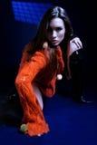 Autumn fashion portrait Royalty Free Stock Photo