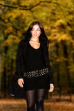 Autumn fashion portrait Royalty Free Stock Image