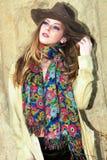 Autumn fashion woman Royalty Free Stock Image