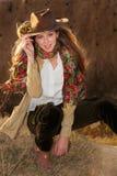 Autumn fashion woman Stock Images