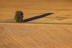 Autumn landscape in Bohemia Stock Photo