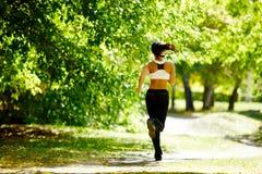 Autumn fitness Stock Image