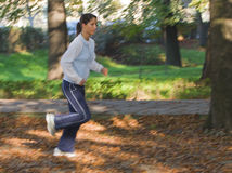 Autumn fitness Royalty Free Stock Photo