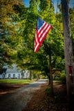 Autumn Flag Royalty Free Stock Photos